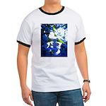 Apple Blossom Blues Ringer T