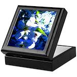 Apple Blossom Blues Keepsake Box