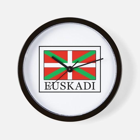 Euskadi Wall Clock