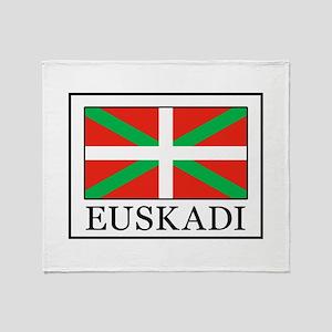 Euskadi Throw Blanket