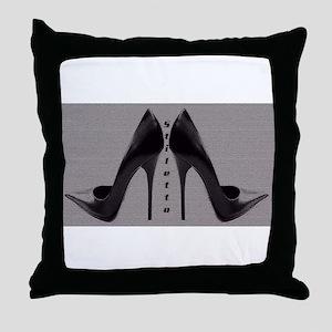 Sexy Stiletto's Throw Pillow