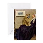 Whistler's / Chow #1 Greeting Cards (Pk of 10)