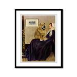 Whistler's / Chow #1 Framed Panel Print