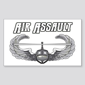 Army Air Assault Rectangle Sticker