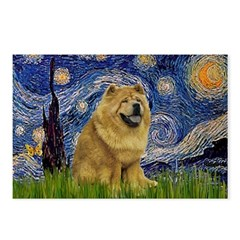 Starry / Chow #! Postcards (Package of 8)