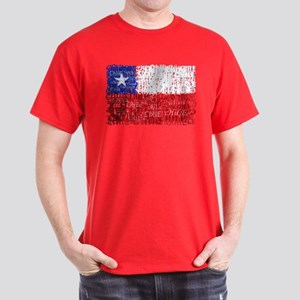 Textual Chile Dark T-Shirt