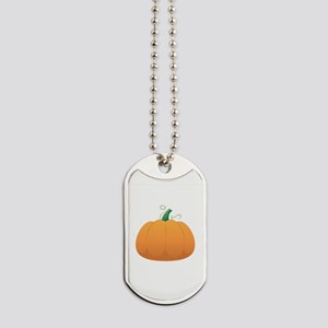 Pumpkin Dog Tags
