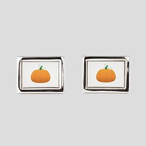 Pumpkin Rectangular Cufflinks