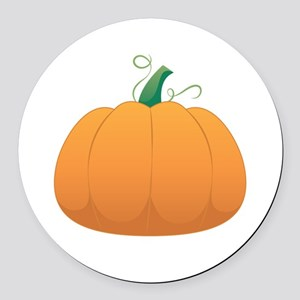 Pumpkin Round Car Magnet