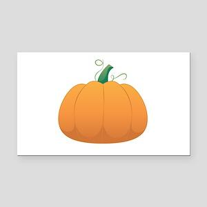 Pumpkin Rectangle Car Magnet
