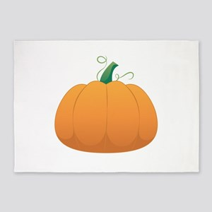 Pumpkin 5'x7'Area Rug