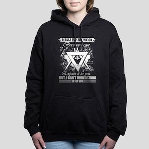 MATH TEACHER SHIRT Women's Hooded Sweatshirt