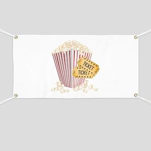 Movie Popcorn Banner