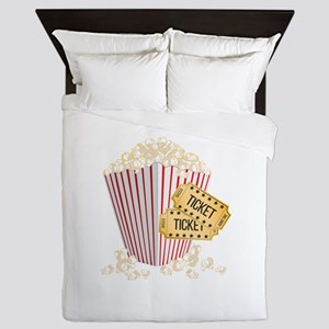 Movie Popcorn Queen Duvet