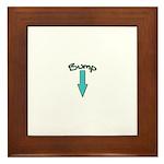 Bump (with Arrow) Framed Tile