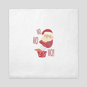 Ho Ho Ho Santa Queen Duvet