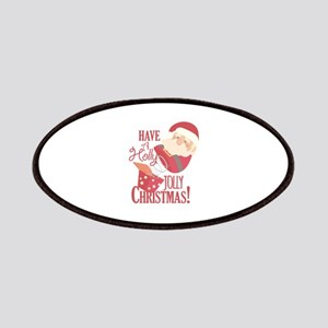 Jolly Christmas Patch