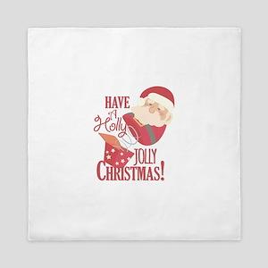 Jolly Christmas Queen Duvet