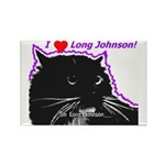 Long Johnson Rectangle Magnet