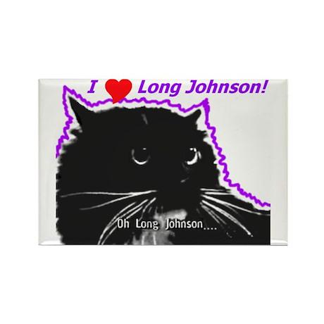 Long Johnson Rectangle Magnet (10 pack)