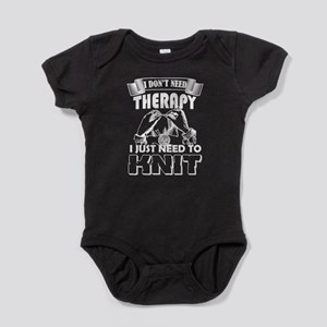 Knitting Therapy Baby Bodysuit