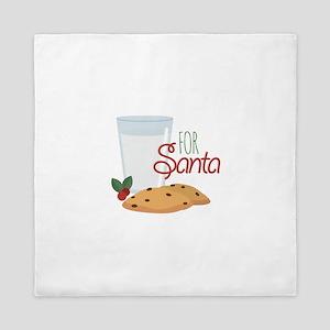 For Santa Queen Duvet