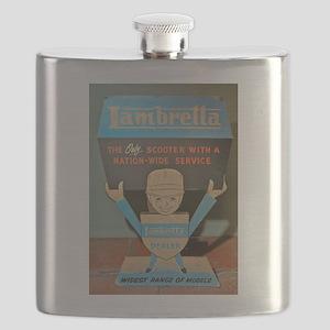 LAMBRETTA DEALER Flask