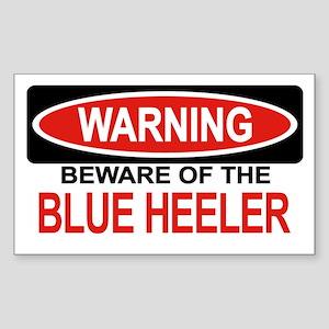 BLUE HEELER Rectangle Sticker