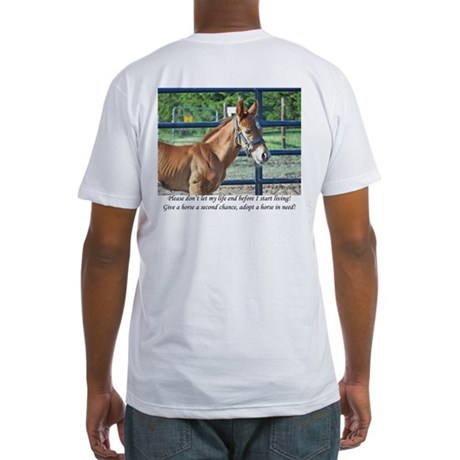 Indiana Horse Rescue Fitted T-Shirt