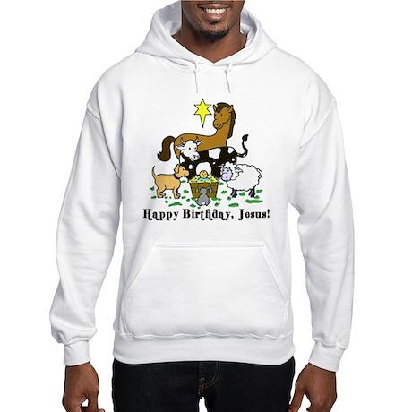 Jesus Birthday Hooded Sweatshirt
