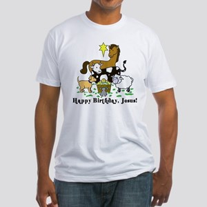Jesus Birthday Fitted T-Shirt