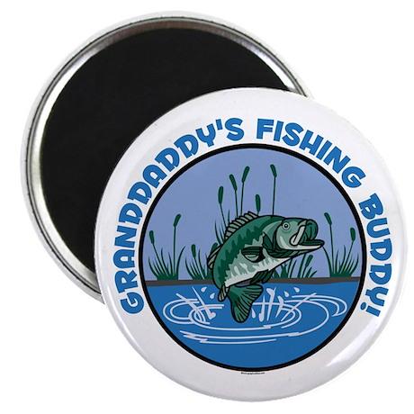 "GRANDDADDY'S FISHING BUDDY! 2.25"" Magnet (10 pack)"