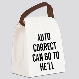 Autocorrect Canvas Lunch Bag