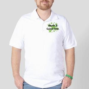 Gluten & Casein Free - stars Golf Shirt