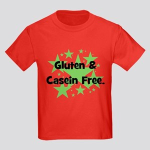 Gluten & Casein Free - stars Kids Dark T-Shirt