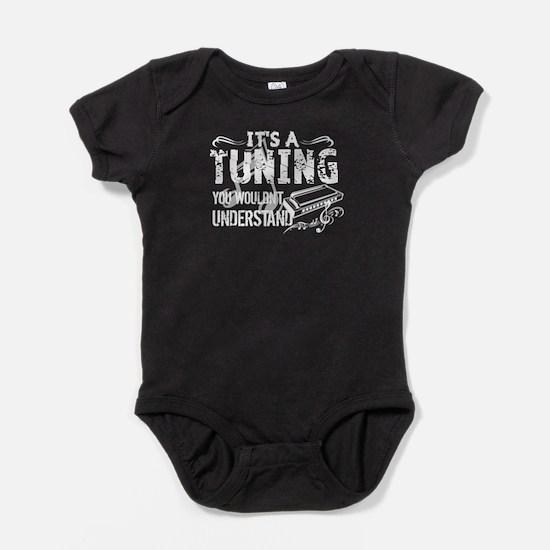 HARMONICA TUNING Baby Bodysuit