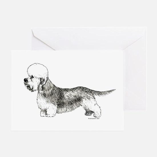 Dandie Dinmont Terrier Greeting Card