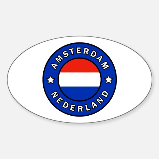 Cute Koninkrijk der nederlanden Sticker (Oval)