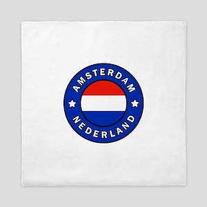 Amsterdam Netherlands Queen Duvet