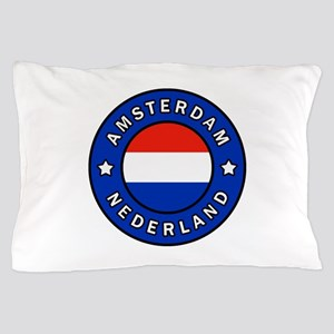 Amsterdam Netherlands Pillow Case