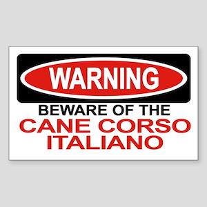 CANE CORSO ITALIANO Rectangle Sticker