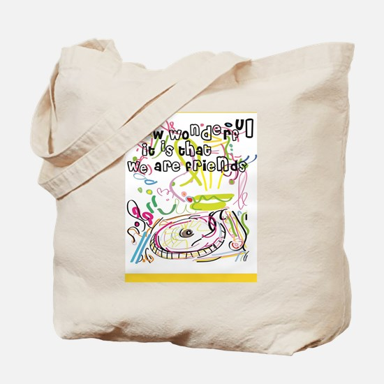 Cute Friendship and or best friends Tote Bag