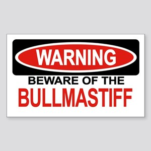 BULLMASTIFF Rectangle Sticker