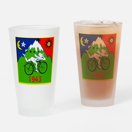 Funny Psychedelic Drinking Glass