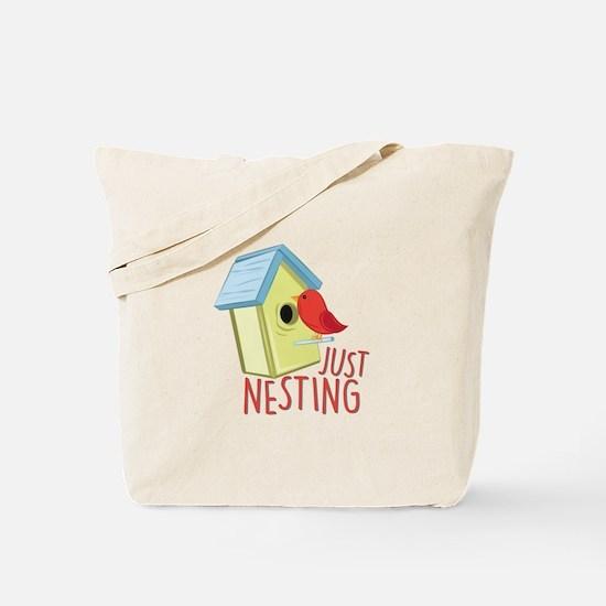 Just Nesting Tote Bag