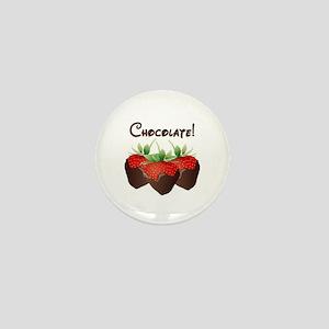 Chocolate Lovers Mini Button