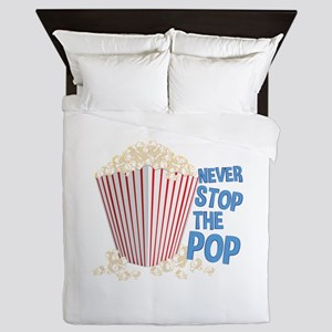 Stop The Pop Queen Duvet
