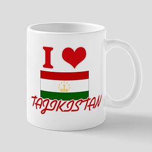 I Love Tajikistan Mugs