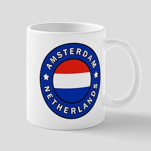 Amsterdam Netherlands Mugs