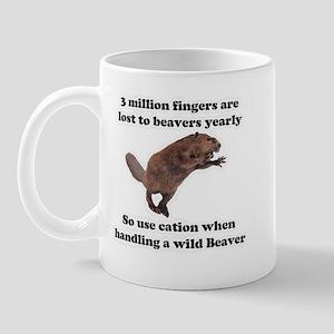beaver humor gifts Mug